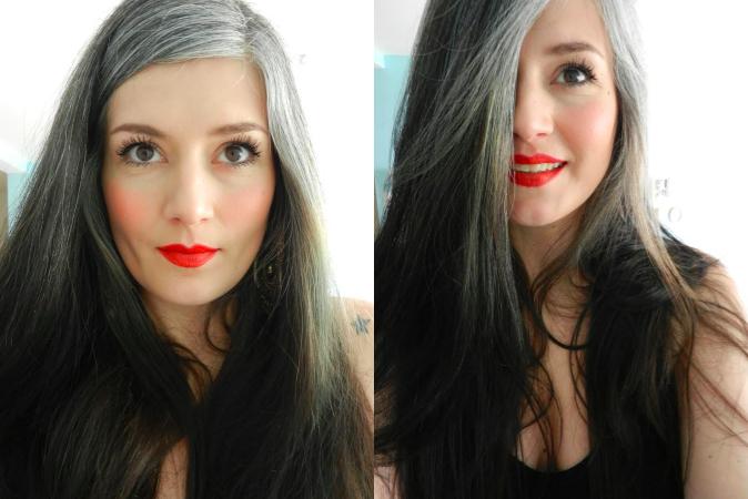 Mes cheveux blancs